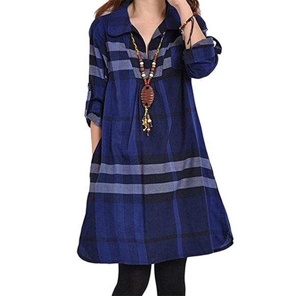 Dresses & Skirts - Blue Dress.